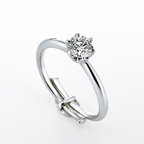 Smile propose ring